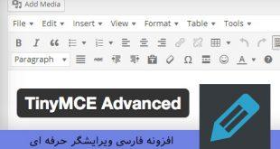 افزونه فارسی ویرایشگر حرفه ای