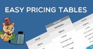 افزونه فارسی ساخت جدول قیمت Easy Pricing Tables