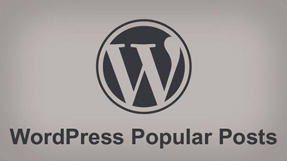 wordpress popular posts - افزونه فارسی نمایش محبوبترین مطالب wordpress popular posts