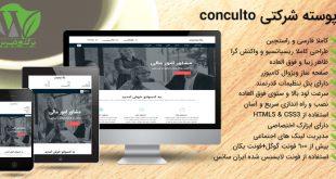 پوسته فارسی شرکتی و تجاری وردپرس Consulto